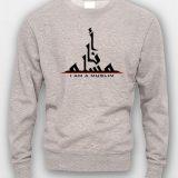 I-am-a-muslim-Crewneck-grey