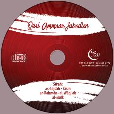Qari Ammaar jabodien Audio CD
